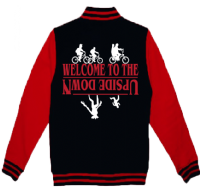 WELCOME TO THE UPSIDE DOWN VARSITY - INSPIRED BY STRANGER THINGS